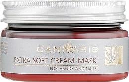 Духи, Парфюмерия, косметика Крем-маска восстанавливающая для кожи рук и ногтей - Cannabis Extra Soft Cream-Maskfor Hands And Nails