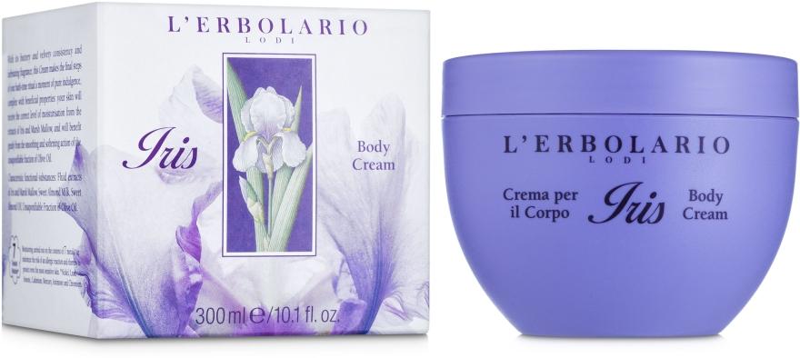 """Ароматизированный крем для тела """"Ирис"""" - L'Erbolario Iris Crema del il Copro"""