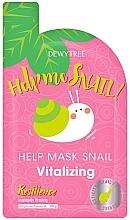 Духи, Парфюмерия, косметика Восстанавливающая маска для лица - Dewytree Help Me Snail! Vitalizing Mask