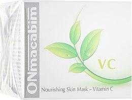 Духи, Парфюмерия, косметика Маска для лица, питательная - Onmacabim VC Nourishing Skin Mask Vitamin C