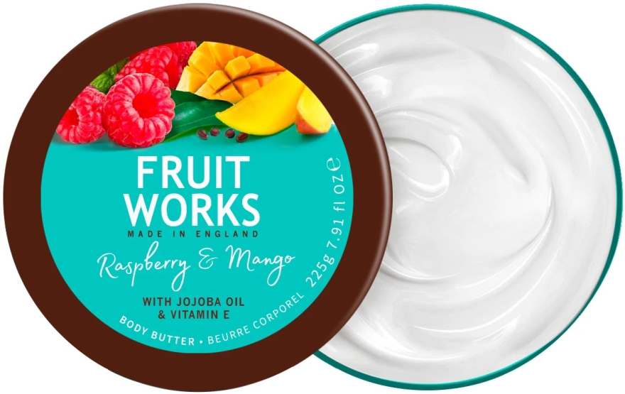 "Масло для тела ""Малина и Манго"" - Grace Cole Fruit Works Body Butter Raspberry & Mango"