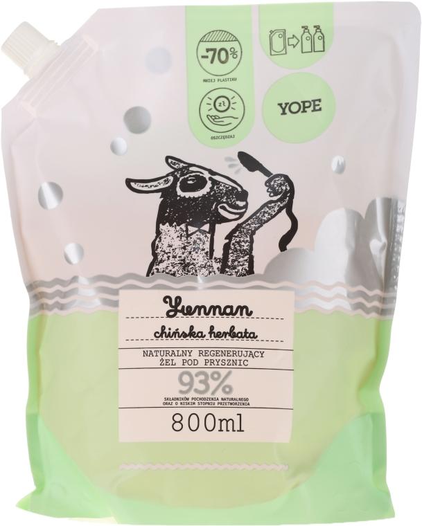 Гель для душа «Зеленый чай» - Yope Yunnan Shower Gel (дойпак)