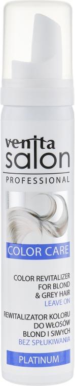 Пенка для волос - Venita Salon Color Revitalizer Platinum Blond&Grey Hair