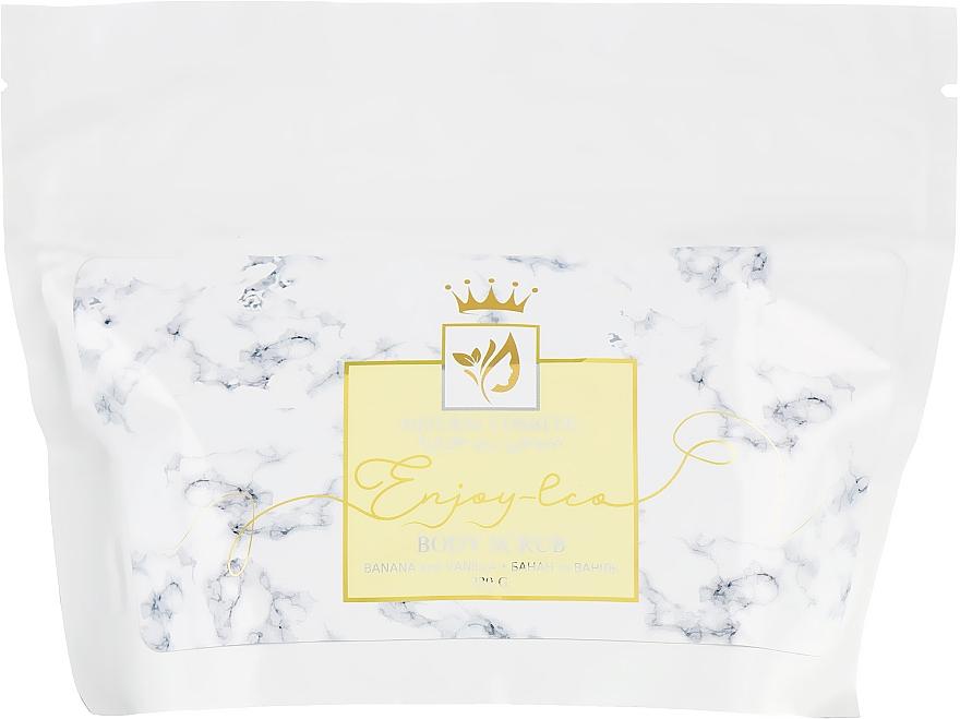 """Натуральный сахарный скраб для тела """"Банан и ваниль"""" - Enjoy & Joy Enjoy Eco Body Scrub Banana And Vanilla"""