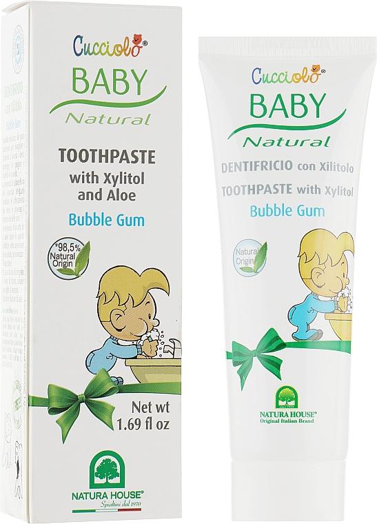 Зубная паста «Жевательная резинка» - Natura House Baby Cucciolo Toothpaste