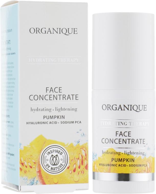 Увлажняющий концентрат для лица - Organique Hydrating Therapy Face Concentrate