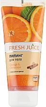 "Духи, Парфюмерия, косметика Пилинг для тела ""Апельсин и Корица"" - Fresh Juice Orange & Cinnamon"