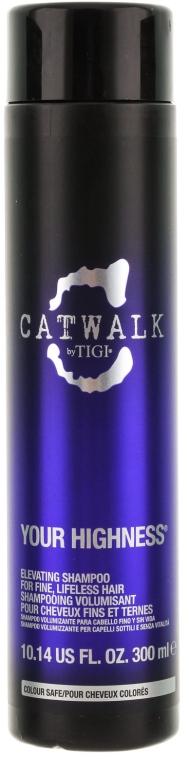 Шампунь для объема волос - Tigi Catwalk Your Highness Elevating Shampoo