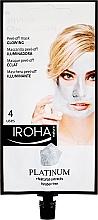 Духи, Парфюмерия, косметика Маска для лица - Iroha Nature Platinum Peel Off Mask Glowing 4 Uses