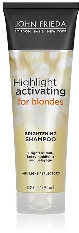 Увлажняющий шампунь для светлых волос - John Frieda Sheer Blonde Highlight Activating Moisturising Shampoo