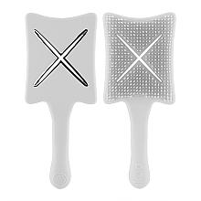 Парфумерія, косметика Гребінець-детанглер - Ikoo Paddle X Pops Platinum White