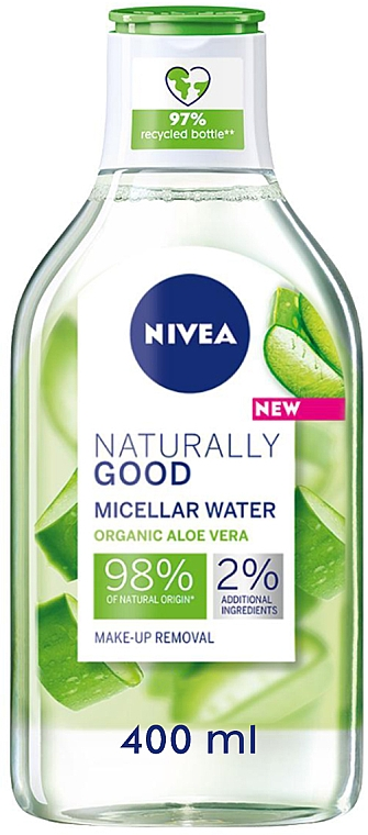 Мицеллярная вода - Nivea Naturally Good Micellar Water