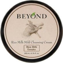 Очищающий крем для лица - Beyond Rice Milk Mild Cleansing Cream — фото N2
