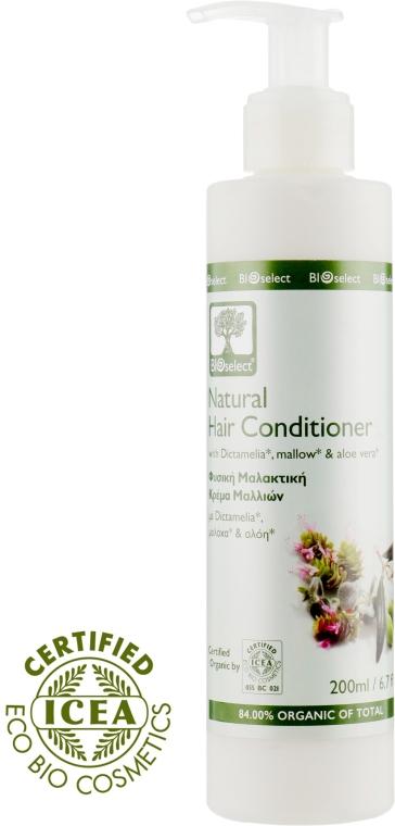 Кондиционер-ополаскиватель с Диктамелией, мальвой и алоэ-вера - BIOselect Natural Hair Conditioner