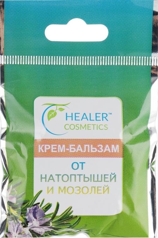 Крем-бальзам для ног от натоптышей и мозолей - Healer Cosmetics