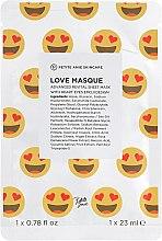 """Духи, Парфюмерия, косметика Маска для лица """"Любовь для лица. Сияние"""" - Petite Amie Love Mask"""