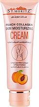 Духи, Парфюмерия, косметика Коллагеновый увлажняющий крем с персиком для лица и тела - St.Moriz Peach Collagen Skin Moisturizing Cream