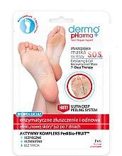 Духи, Парфюмерия, косметика Маска-пилинг для ног - Dermo Pharma Skin Repair Expert S.O.S. Exfoliating & Cell Recovery Foot Mask