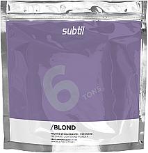 Духи, Парфюмерия, косметика Осветляющая безаммиачная пудра до 6 Тонов - Laboratoire Ducastel Subtil Blond