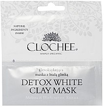Детоксицирующая маска с белой глиной - Clochee Detox Wax Clay Mask — фото N1