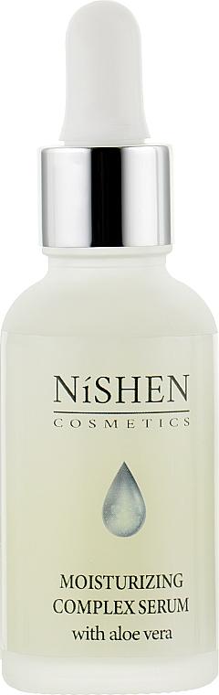 Сыворотка для лица с увлажняющим комплексом - Nishen Cosmetics Moisturizing Complex Serum
