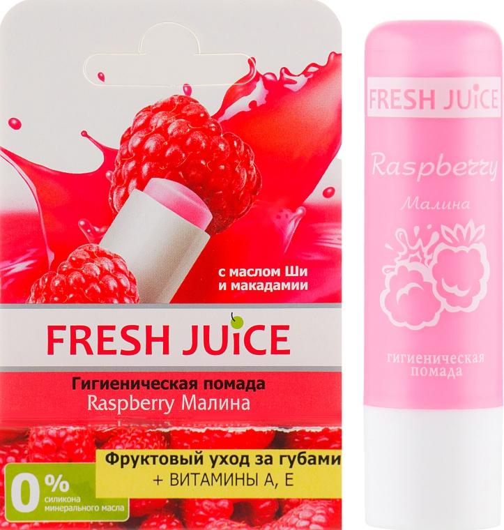 """Гигиеническая помада в упаковке """"Малина"""" - Fresh Juice Raspberry"""