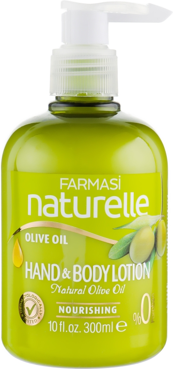 Лосьон для рук и тела с маслом оливки - Farmasi O'liva Hand&Body Lotion