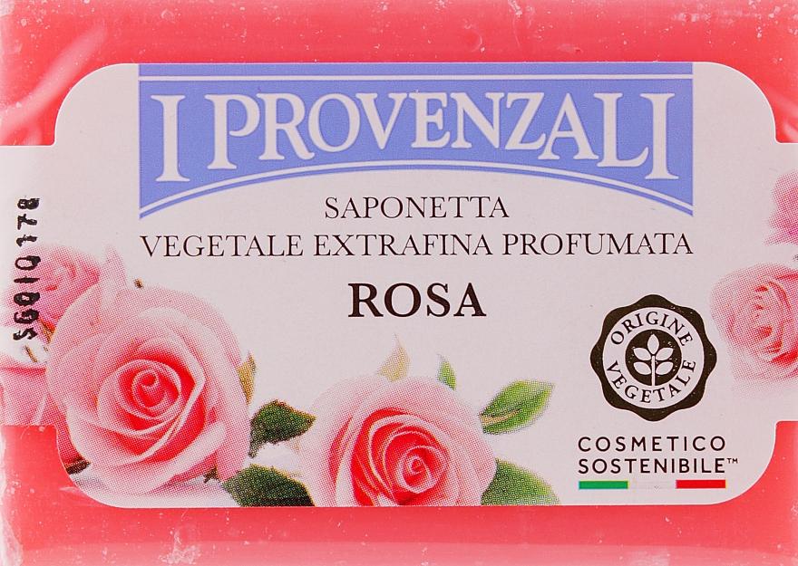 """Мыло твердое растительное """"Роза"""" - I Provenzali Vegetale"""