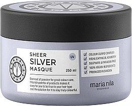 Духи, Парфюмерия, косметика Маска от желтизны окрашенных волос - Maria Nila Sheer Silver Masque