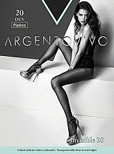 "Духи, Парфюмерия, косметика Колготки ""Invisible"" 20 DEN, platino - Argentovivo"