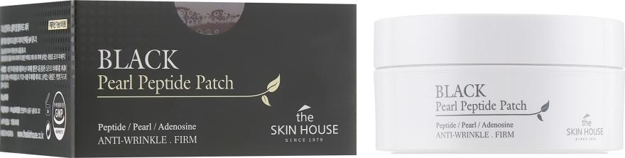 Гидрогелевые патчи с пептидами и экстрактом черного жемчуга - The Skin House Black Pearl Peptide Patch