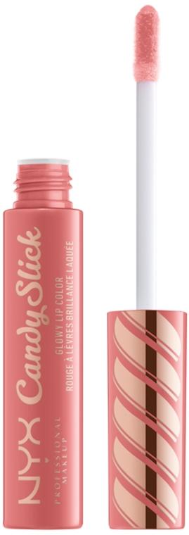 Блеск для губ с зеркальным блеском - NYX Professional Makeup Candy Slick Glowy Lip Color