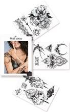 Духи, Парфюмерия, косметика Флеш-тату черные переводные - Miami Tattoos Wicked