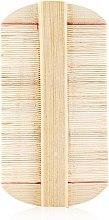 Духи, Парфюмерия, косметика Деревянный гребешок карманный мелкозубый, CLR-337 - Christian