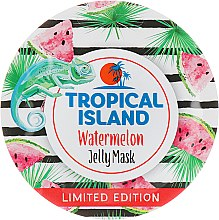 Духи, Парфюмерия, косметика Увлажняющая гелевая маска с экстрактом арбуза - Marion Tropical Island Watermelon Jelly Mask