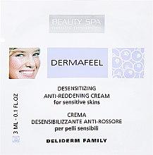 """Духи, Парфюмерия, косметика Крем для лица """"Дермафил"""" - Beauty Spa Dermafeel Desensitizing Anti-Reddenning Cream (пробник)"""