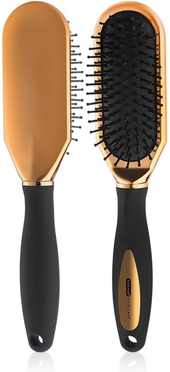 Массажная щетка для волос, узкая - Titania