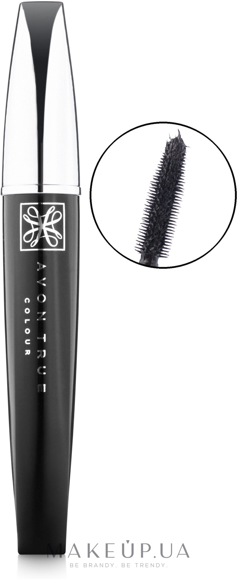 "Тушь для ресниц ""Супердлина. Акцент"" - Avon Superextend Winged Out Mascara — фото Blackest Black"