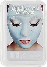 Духи, Парфюмерия, косметика Премиальная альгинатная маска для лица с маслом чайного дерева - Lindsay Luxury 24K Gold Magic Mask