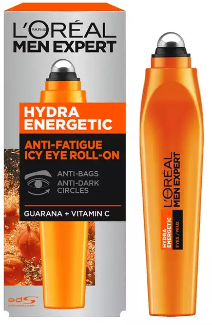 Ролик для кожи вокруг глаз - L'Oreal Paris Men Expert Hydra Energetic Ice Cold Eye Roller