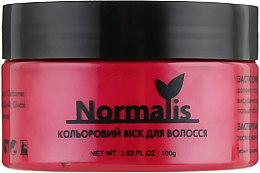 Духи, Парфюмерия, косметика Цветной воск для волос, красный - Normalis