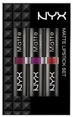Makeup набор Nyx Professional Makeup Matte Lipstick Set 1