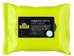 """Духи, Парфюмерия, косметика Салфетки влажные """"Organic Olive"""" - Planeta Organica Organic Olive Wet Wipes"""