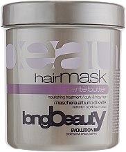Духи, Парфюмерия, косметика Маска для волос с маслом ши - Beauty Long Karite Butter Hairmask