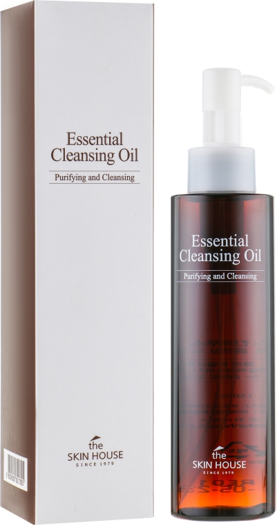 Гидрофильное масло для снятия макияжа - The Skin House Essential Cleansing Oil