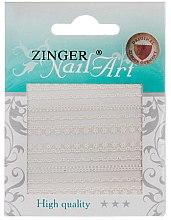 Духи, Парфюмерия, косметика Наклейки кружевные для дизайна ногтей, fda-142 - Zinger Nail Art Sticker