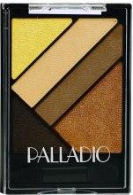 Духи, Парфюмерия, косметика Набор теней для век - Palladio Silk FX Eyeshadow Palettes