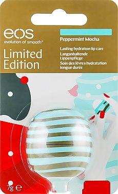 """Бальзам для губ """"Перечная мята-Мокко"""" - EOS Lip Balm Peppermint Mocha Limited Edition"""