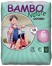 Духи, Парфюмерия, косметика Экоподгузники Nature XL Pants (18+ кг), 18 шт. - Bambo