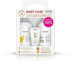 Парфумерія, косметика Набір  - Babe Laboratorios (gel/100ml+balm/50ml+milk/100ml)